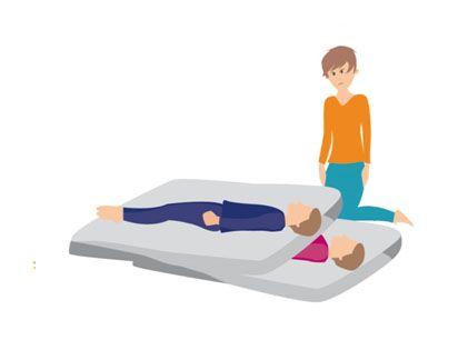 El paciente conecta con la carga y libera en este caso a la persona escogida por ella y que simboliza la parte o Estado del Yo que ha elegido y que lleva la carga